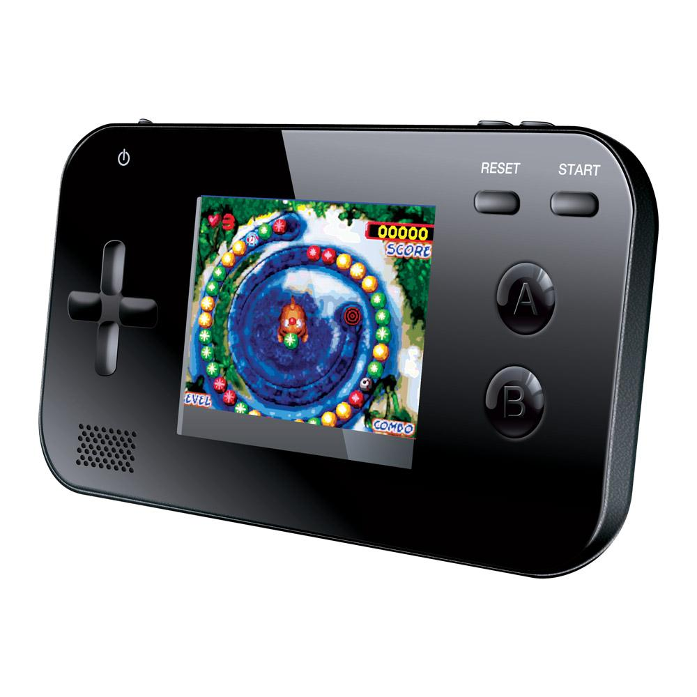Portable Exhibition Game : Dreamgear portable handheld gaming system with built