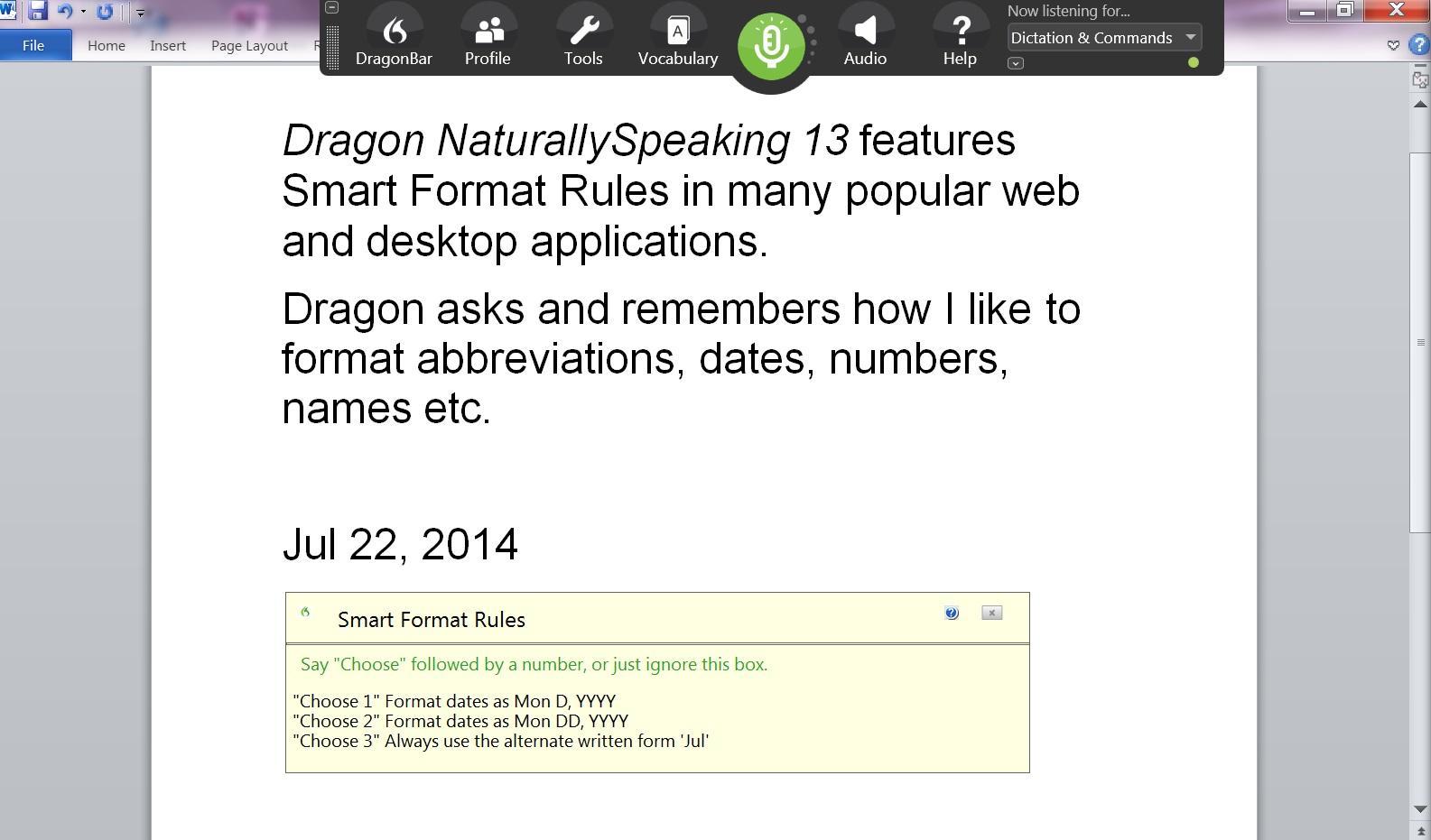 dragon naturallyspeaking 13 key