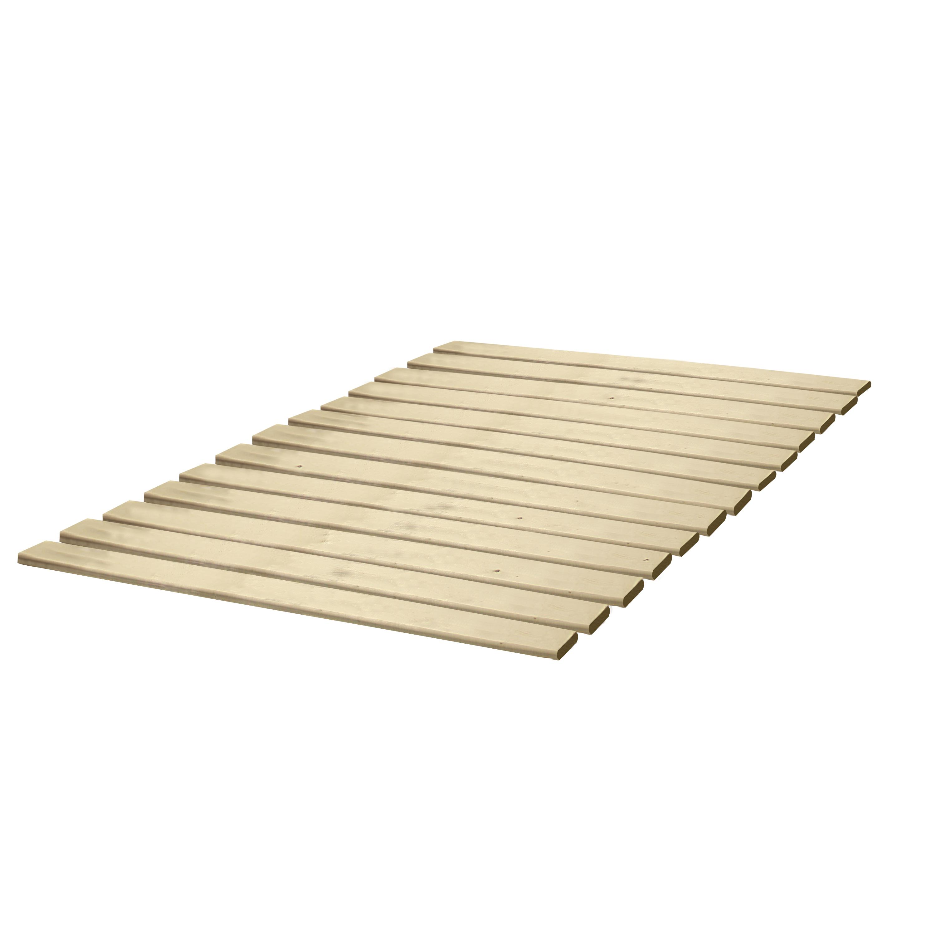 classic brands wooden bed slatsbunkie board solid wood any  - view larger