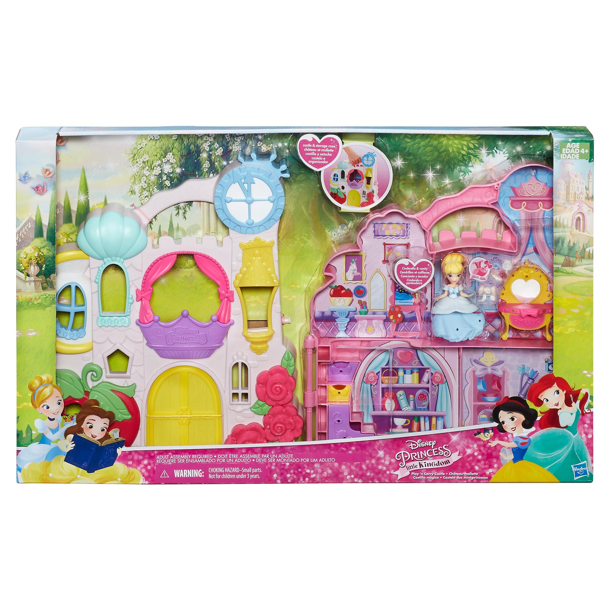 Disney Princess Little Kingdom Play N Carry Castle