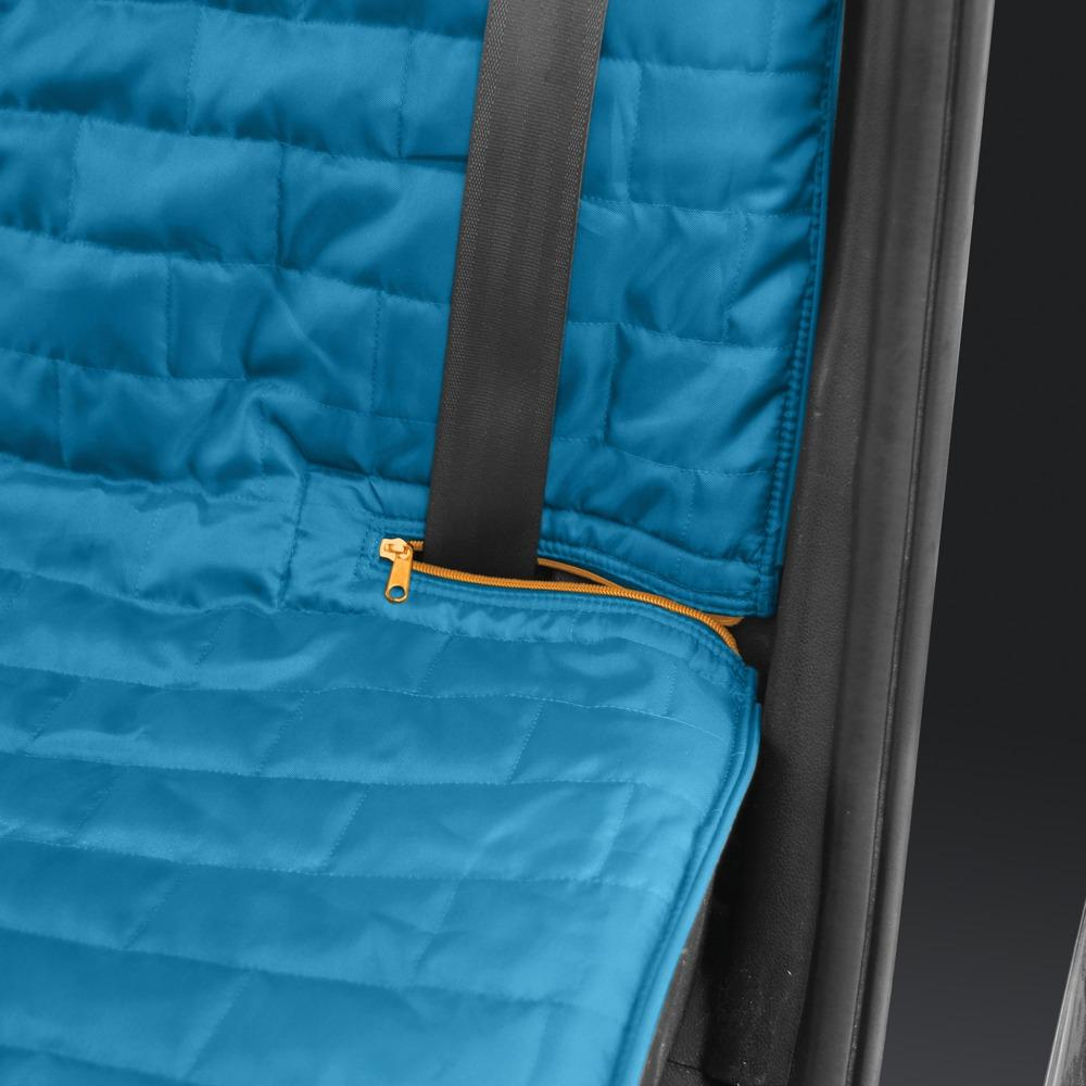 Loft Bench Seat Natural: Kurgo Waterproof Loft Bench Seat Cover For Dogs, Blue