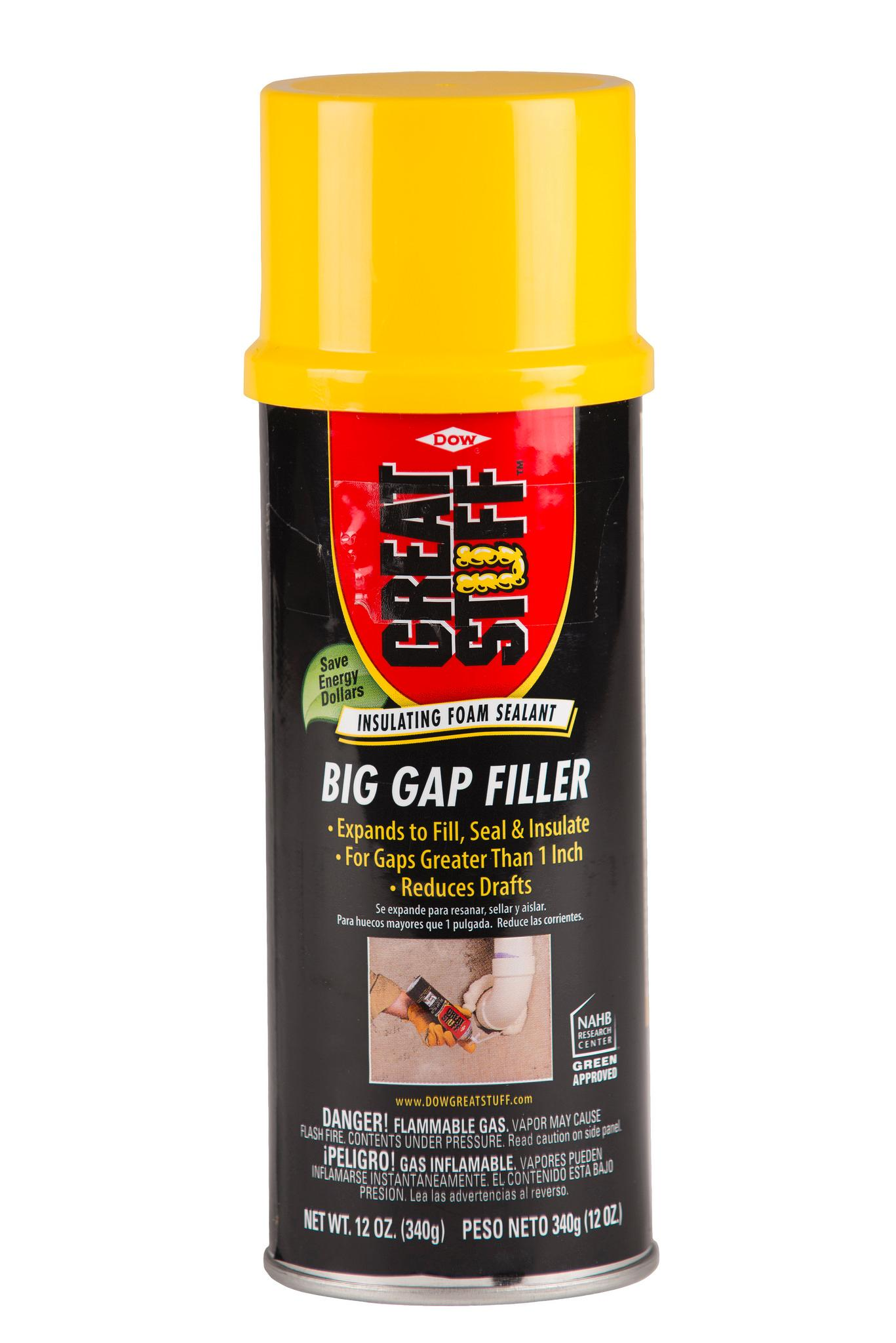 Great Stuff Big Gap Filler 12 Oz Insulating Foam Sealant