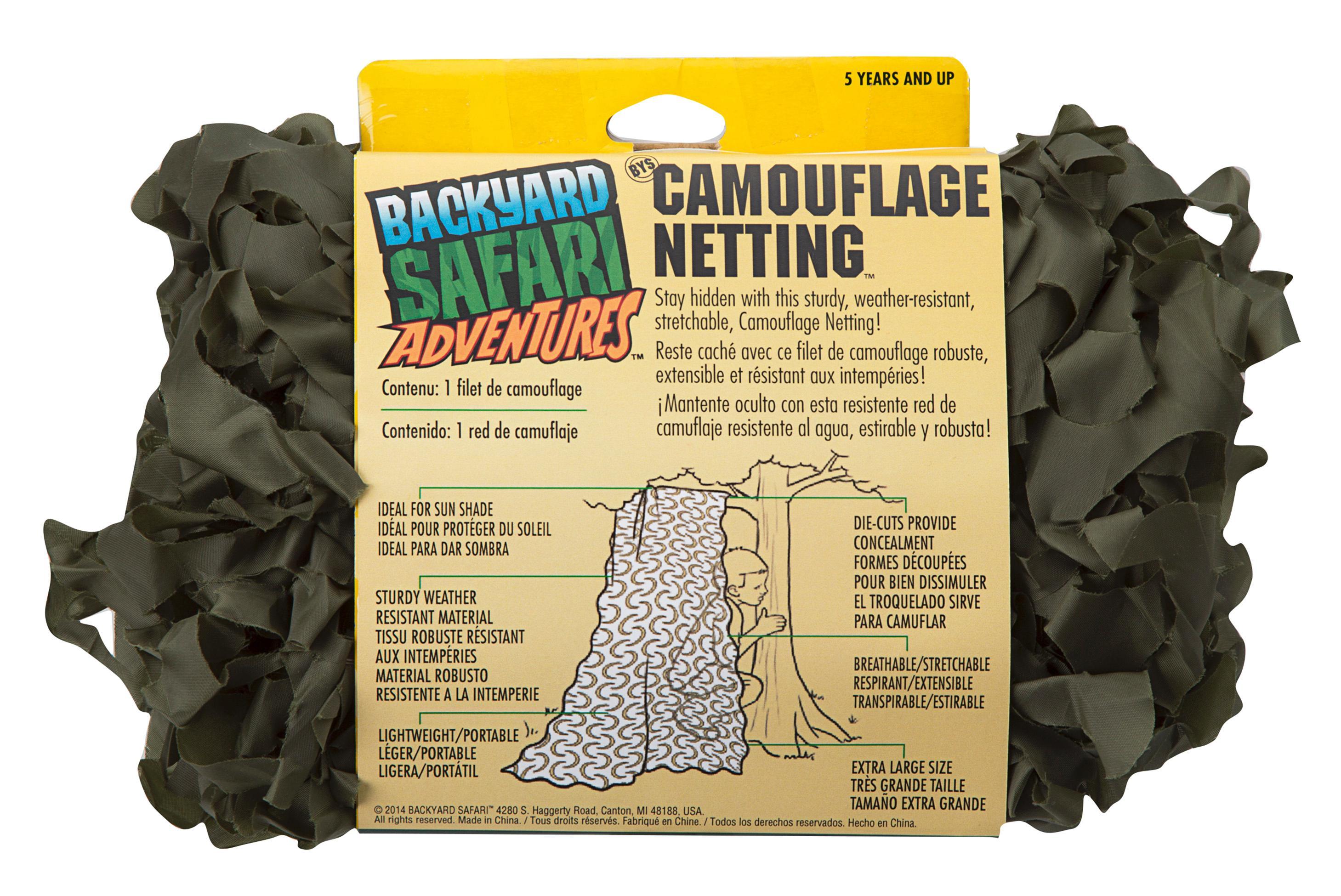 backyard safari camouflage net field green science amazon canada