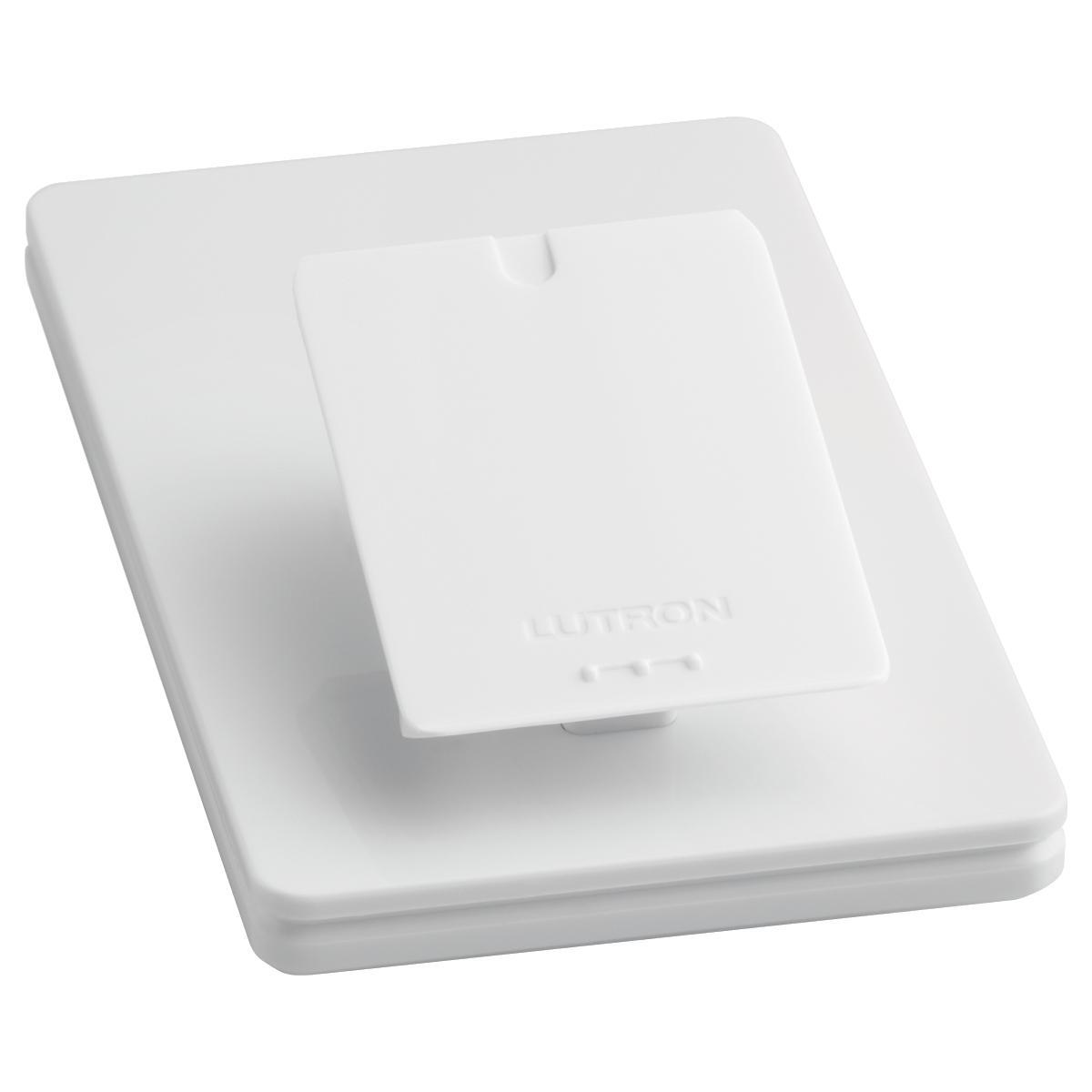lutron caseta wireless smart lighting in wall dimmer kit homekit enabled p bdg pkg2w c works. Black Bedroom Furniture Sets. Home Design Ideas