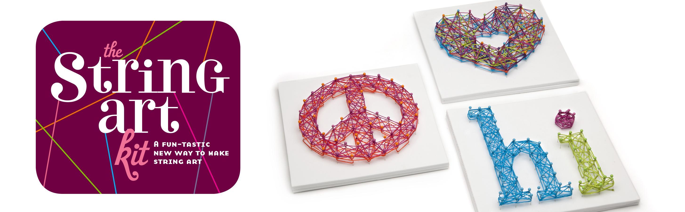 String art craft kit - Craft Tastic String Art Kit A Funtastic New Way To Make String Art