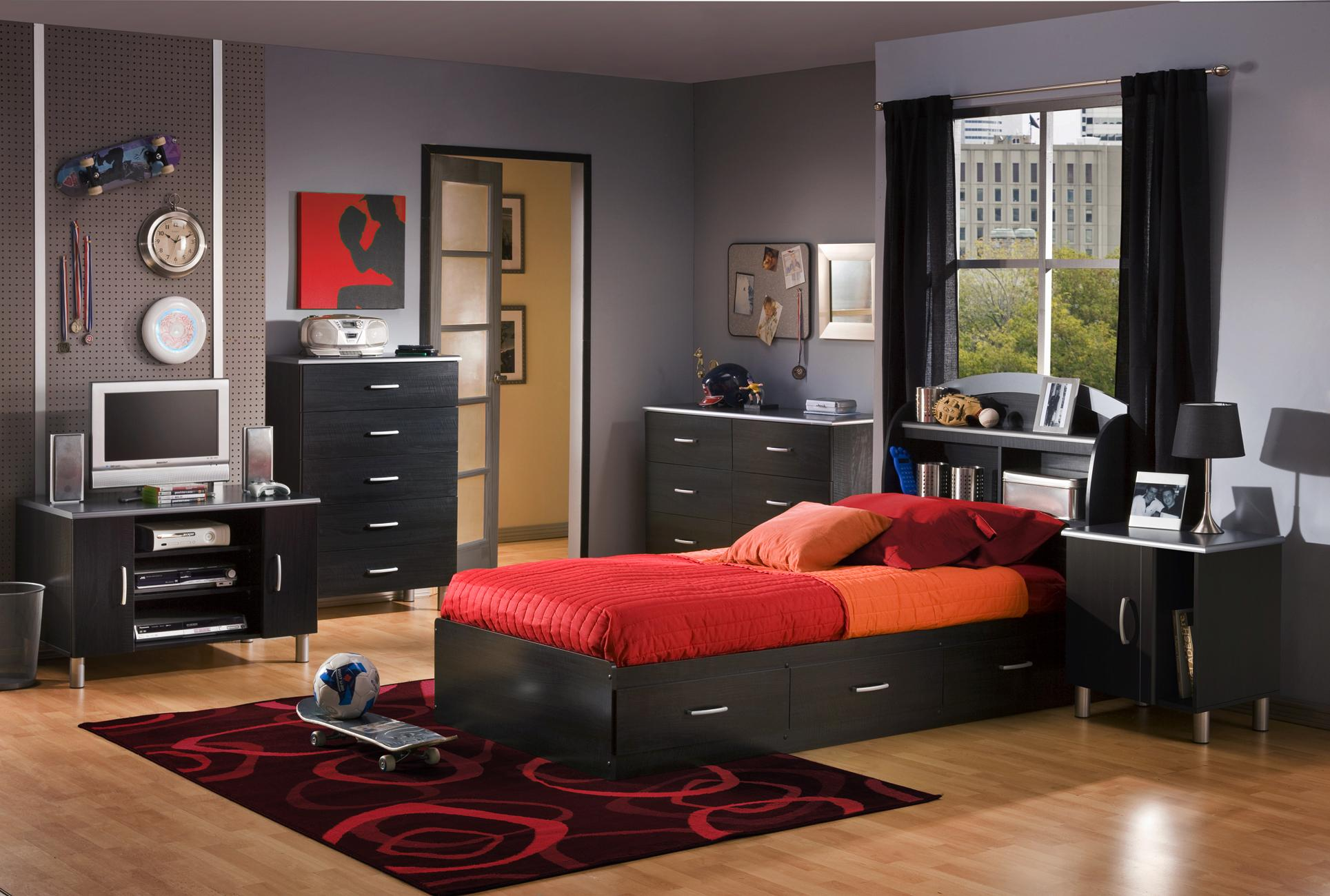South Shore Bedroom Furniture South Shore Furniture Cosmos Collection Double Dresser Black