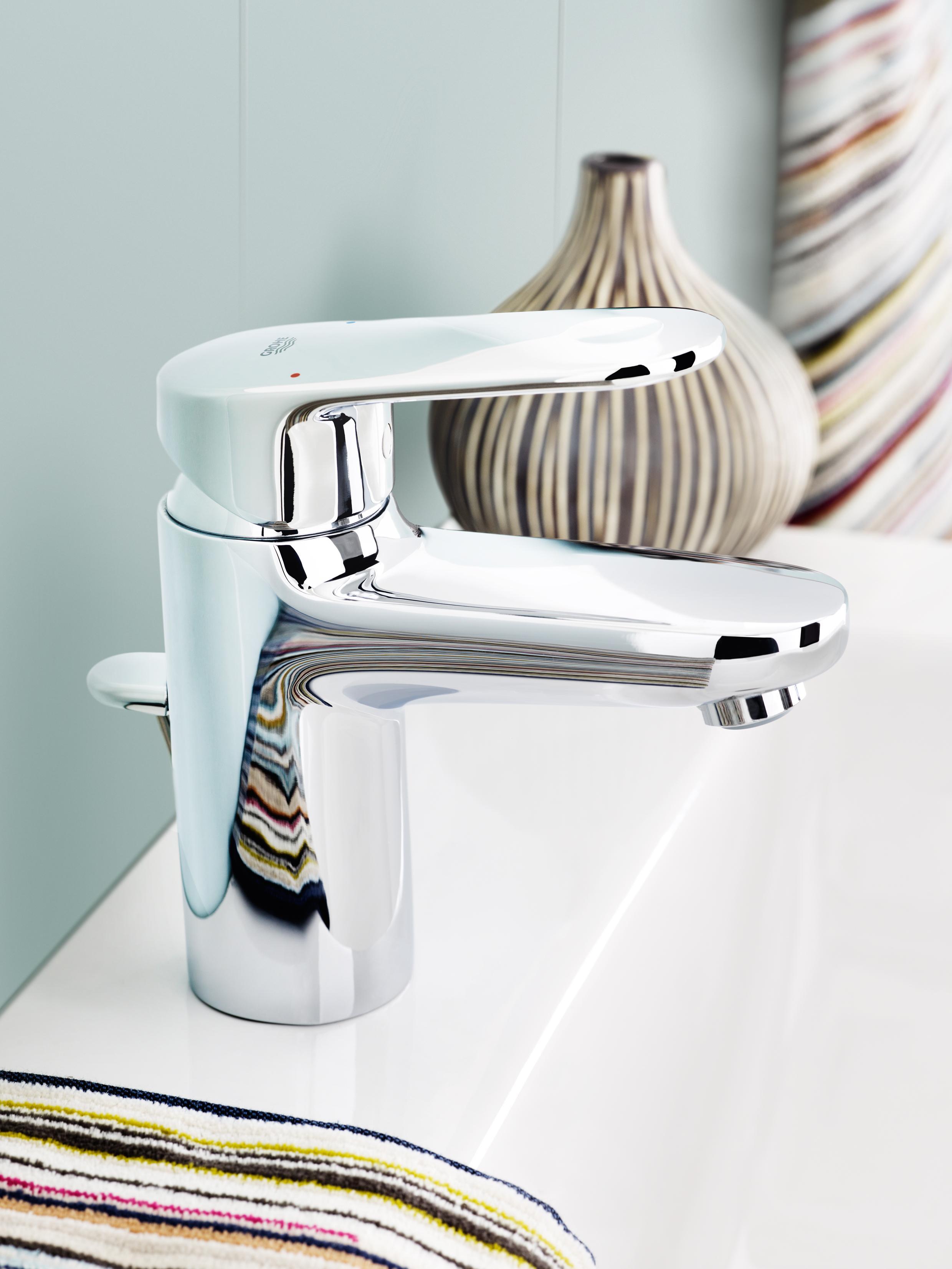 Grohe 33170002 Europlus S Size 1 Handle 1 Hole Bathroom