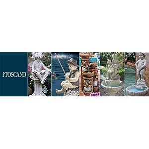 design toscano, bronze garden statues, bronze fountains, lost wax casting