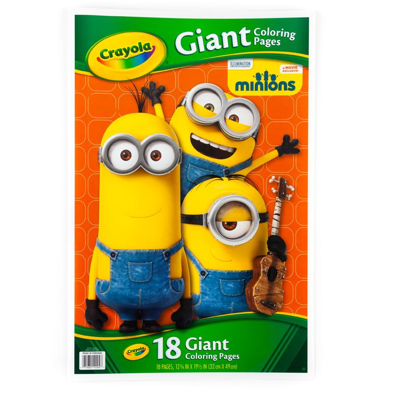 Crayola Giant Color Pages Minions Drawing Sketch Pads Amazon Rhamazonca: Crayola Giant Coloring Pages Amazon At Baymontmadison.com