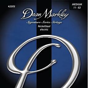 Dean Markley Nickelsteel Med 2505 Electric Guitar Strings