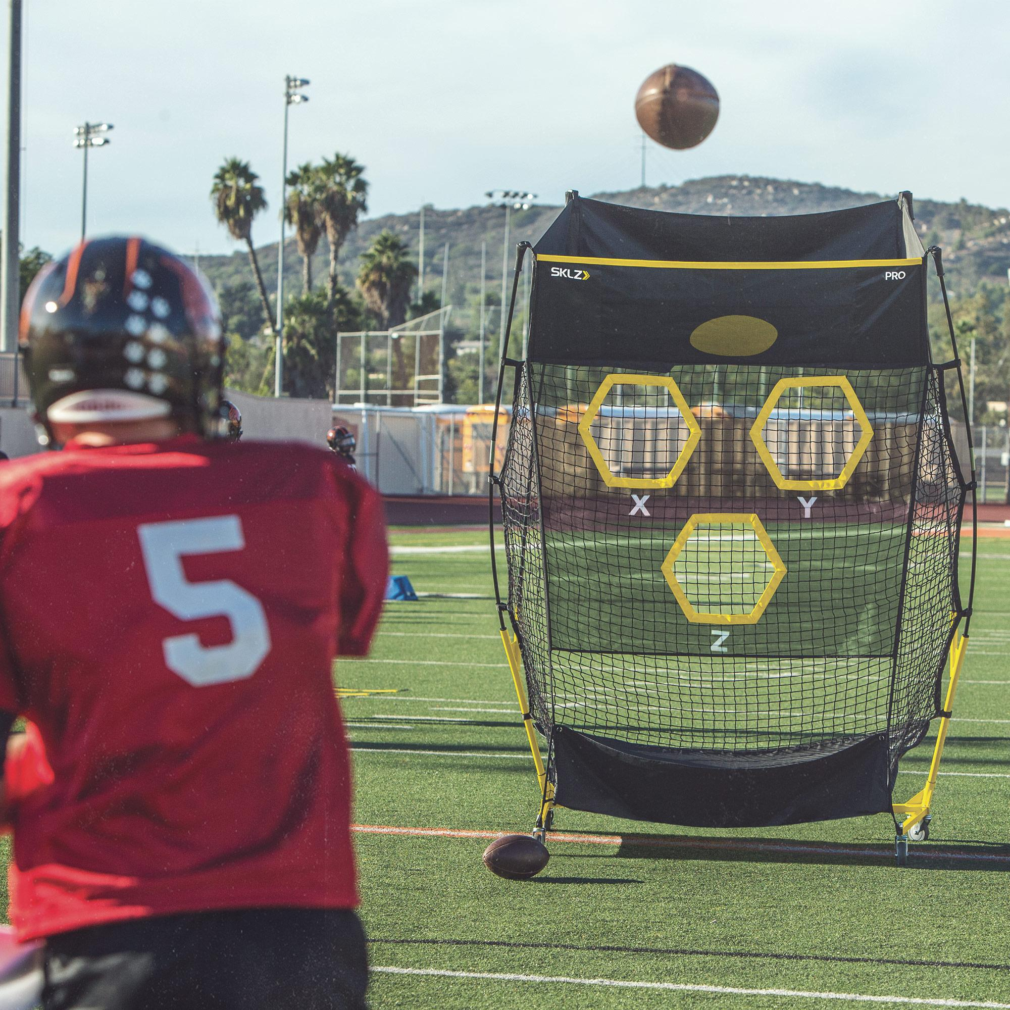 SKLZ QB Trainer Pro - Portable Passing Trainer for ...