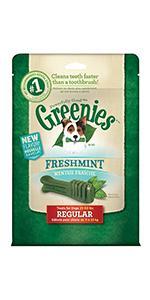 GREENIES Freshmint Dental Chews for Dogs