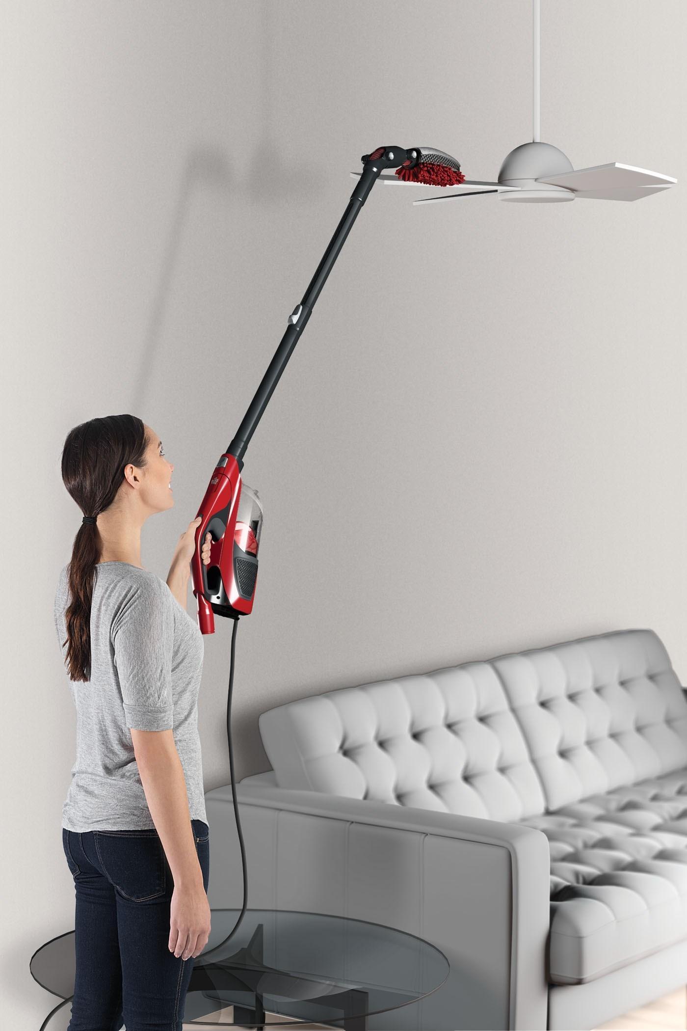dirt devil 360 degree reach power pro stick vacuum red sd12520ca home kitchen. Black Bedroom Furniture Sets. Home Design Ideas