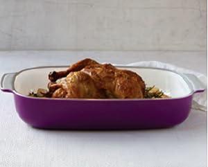 Creo Smartglass Baking Dish 3 Quart Mediterranean Blue