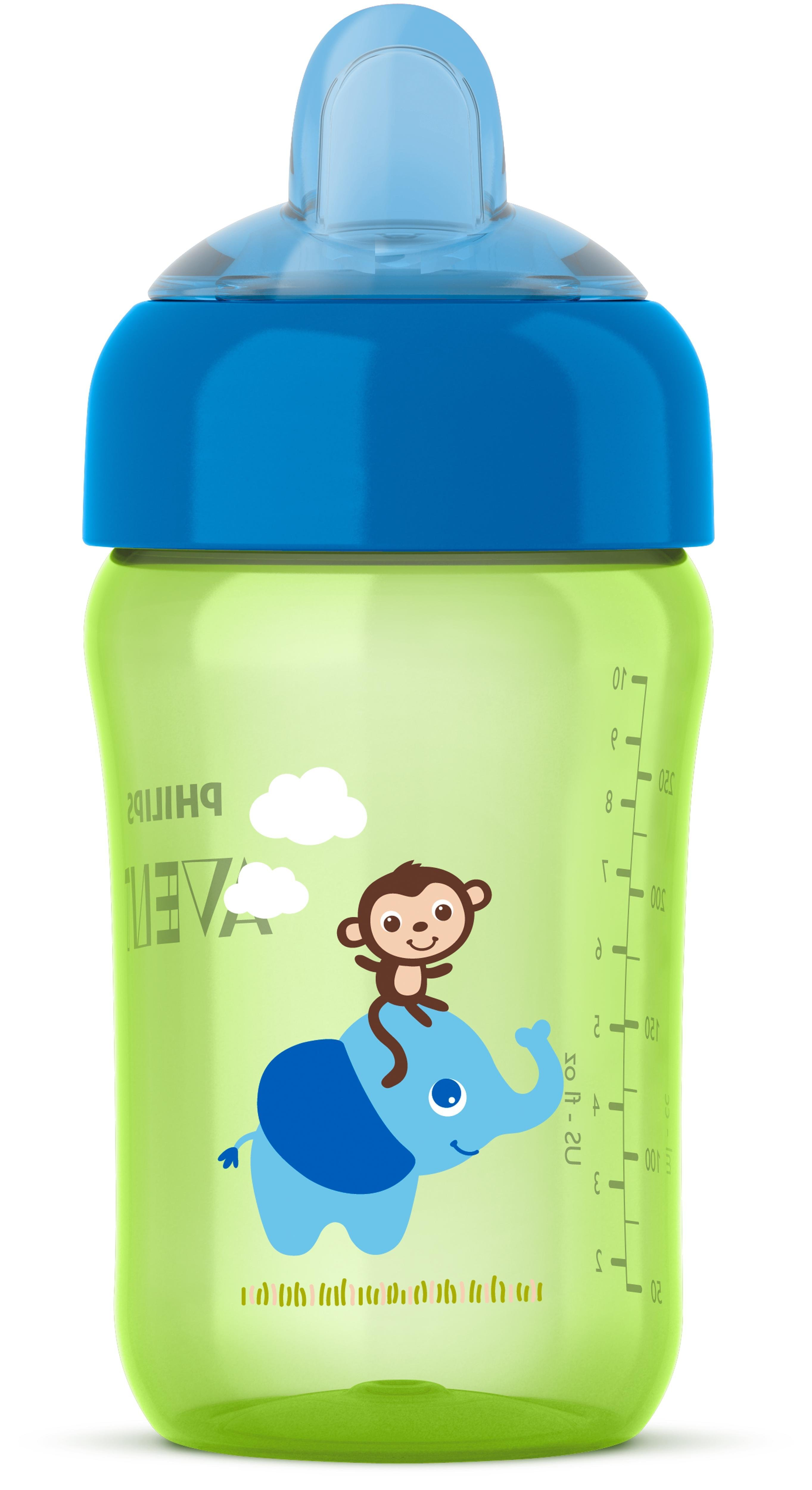 Philips Avent My Sip N Click Cup 12oz Green Blue 1pk