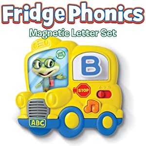 Leapfrog fridge phonics magnetic letter set english for Leapfrog three letter words