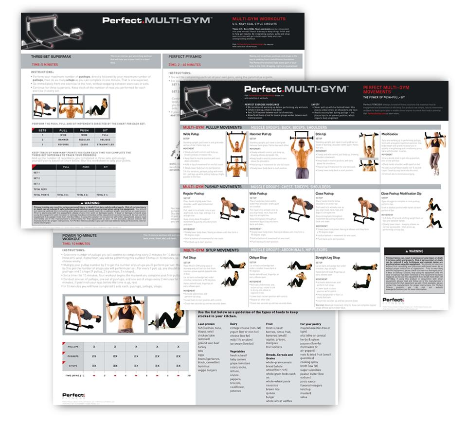 Perfect Fitness Multi Gym Pro Instructions