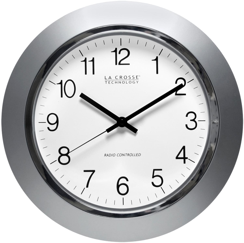 La Crosse Technology WT3144S 14 inch Atomic Analog Wall Clock