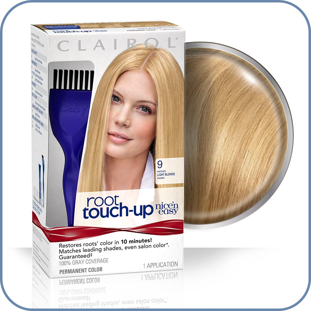 Clairol Nice N Easy Root Touch Up 009 Light Blonde Light Ash Blonde