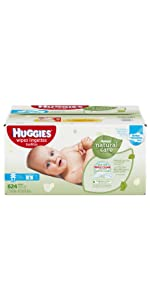 Looking for wet wipes for sensitive skin? Huggies Natural Care Wipes is a great option