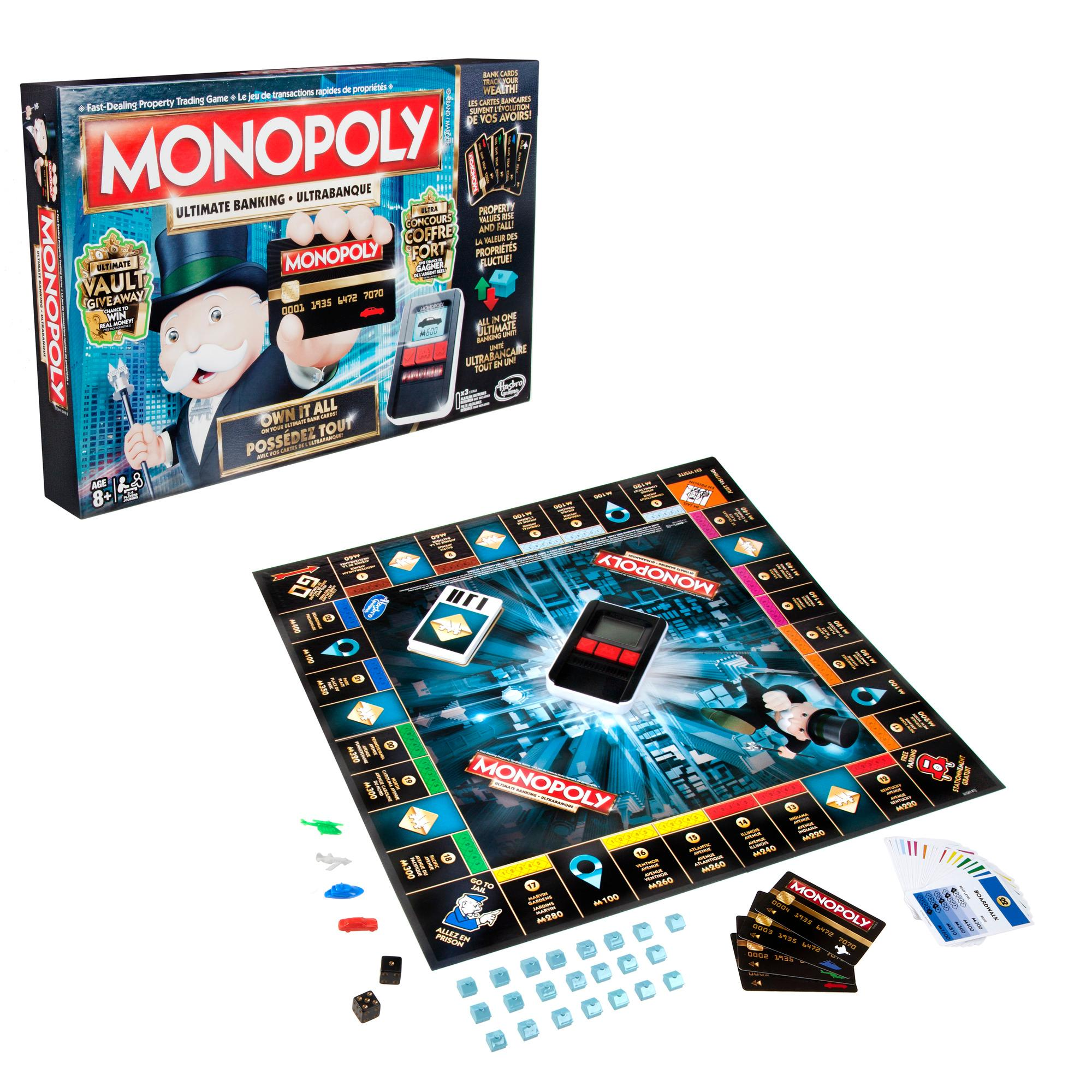 Monopoly Ultimate Banking, Board Games - Amazon Canada