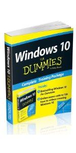 Windows 10 For Dummies, Book Online Videos Bundle