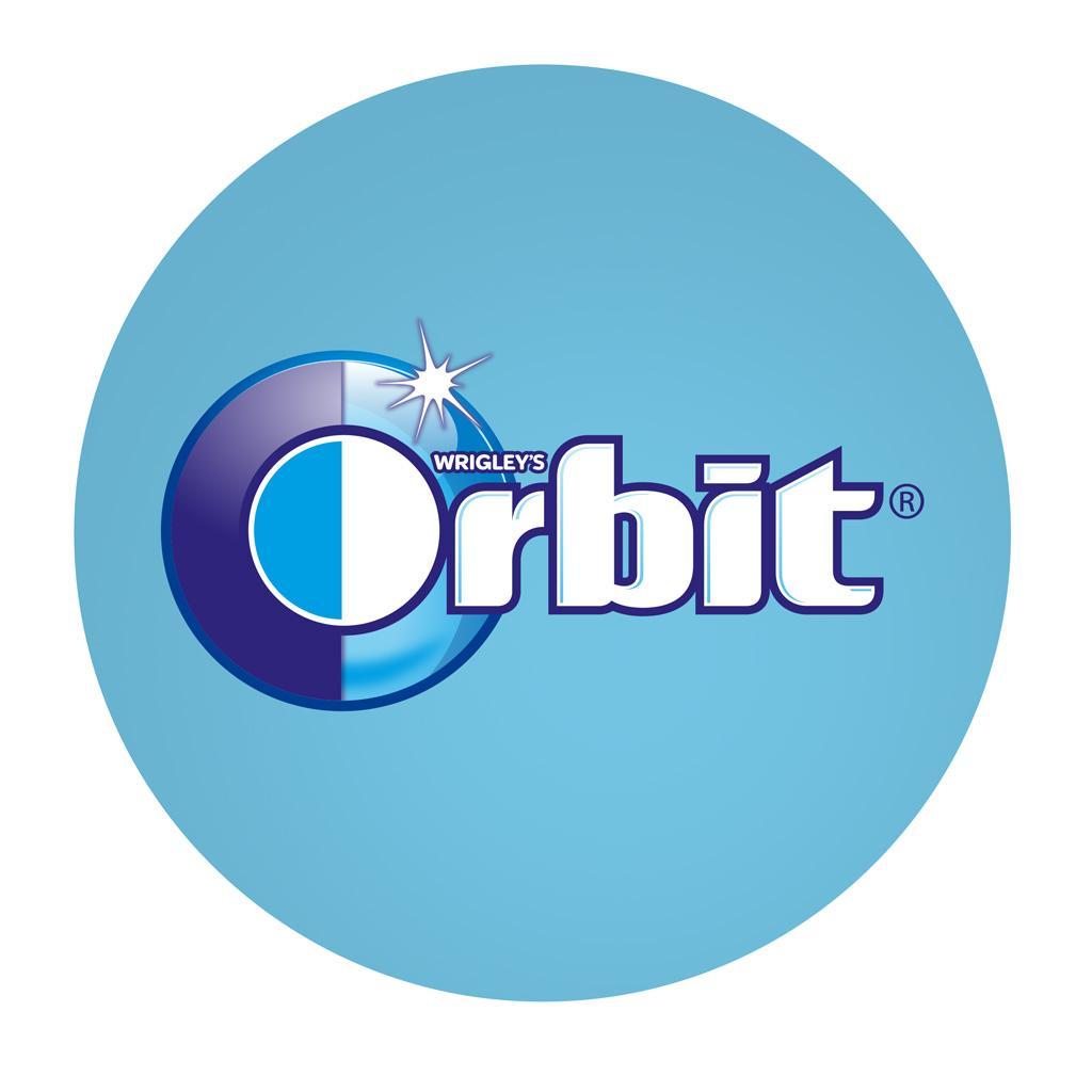 orbit chewing gum white spearmint tear pack 18 count pack of 8 rh amazon ca orbit gum logo vector orbit chewing gum logo