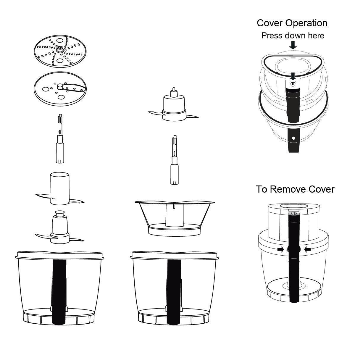 cuisinart food processor slicing disc instructions