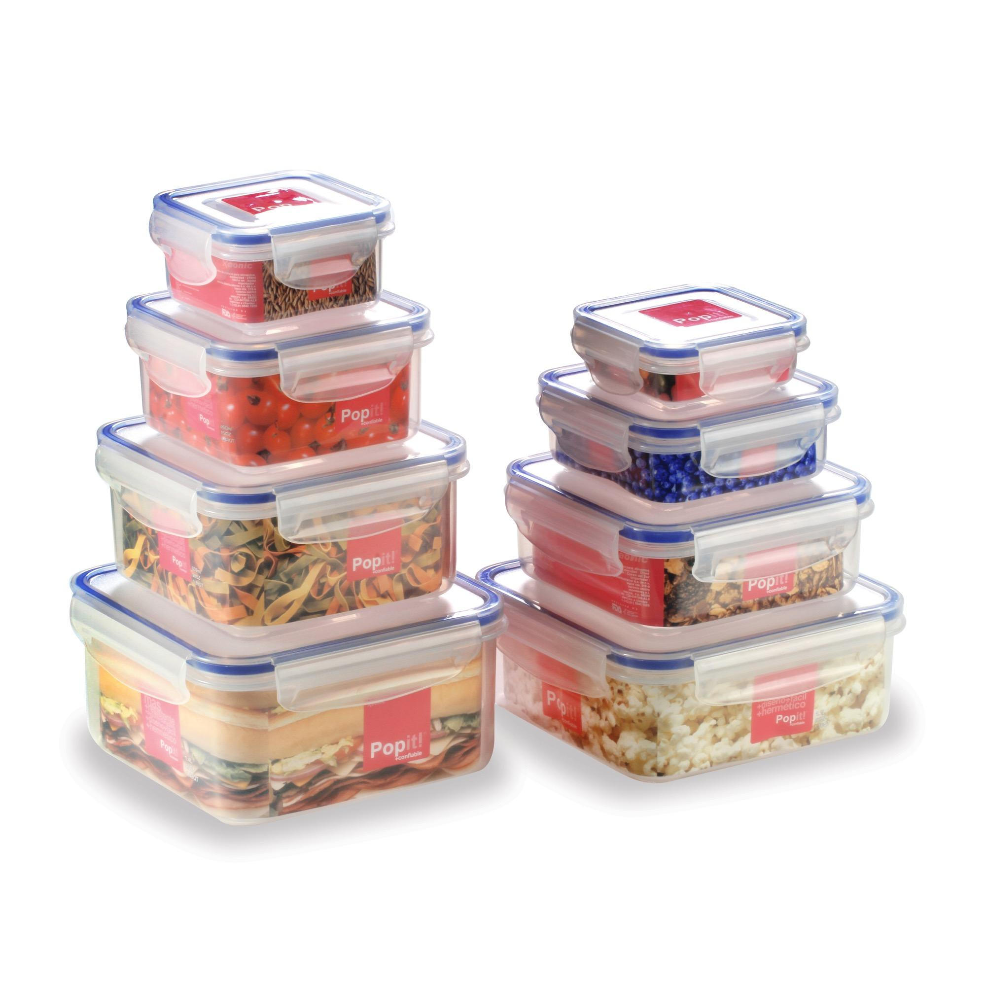 Little Big Box - By Popit! (8 Plastic Container Set / Food