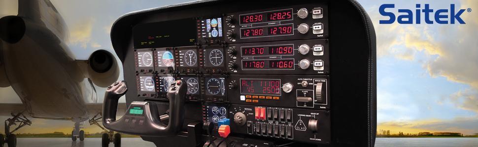 Saitek Pro Flight Switch Panel for PC and Mac