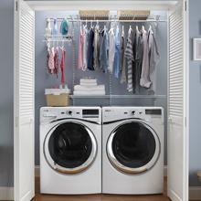Fixed Mount Closet, Closet Organizer, Closet Storage, Wire Shelf, Wire Kits,
