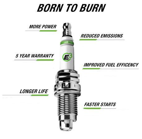 E3 Spark Plugs E3.56 Automotive 1-Pack Truck Van and SUV OEM Replacement Spark Plug