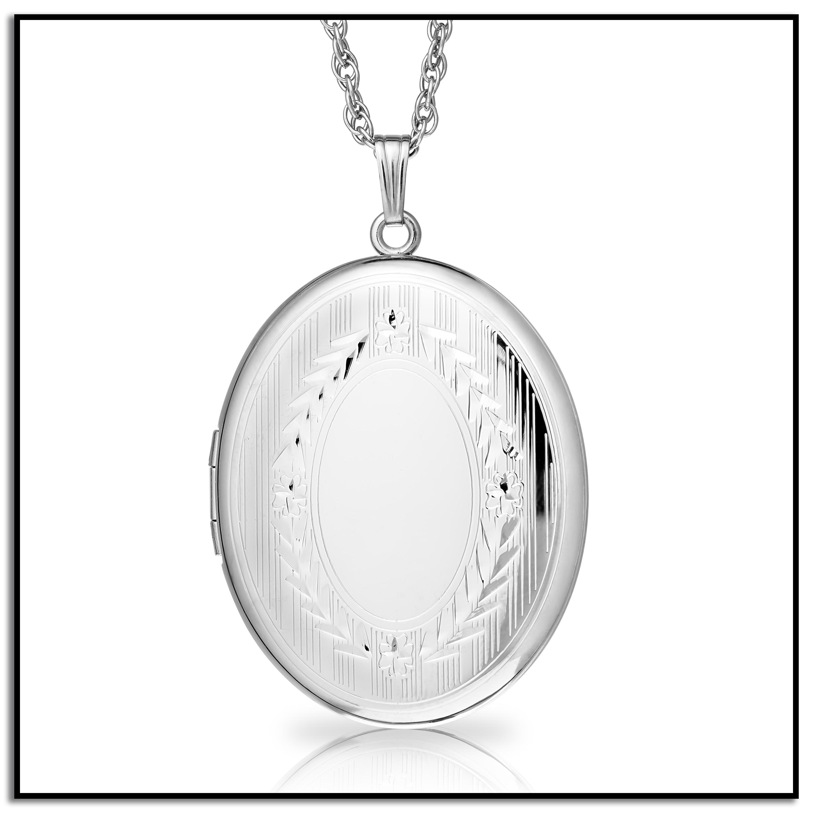 diamante lockets away with silver locket large shop pendant floating