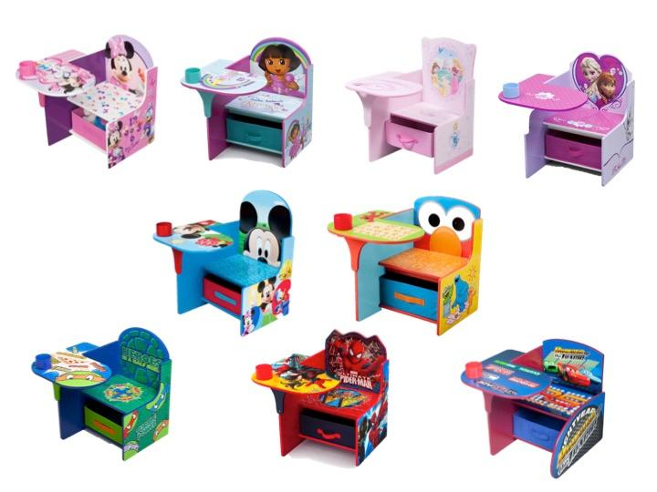 Delta Children Chair Desk With Storage Marvel SpiderMan Delta