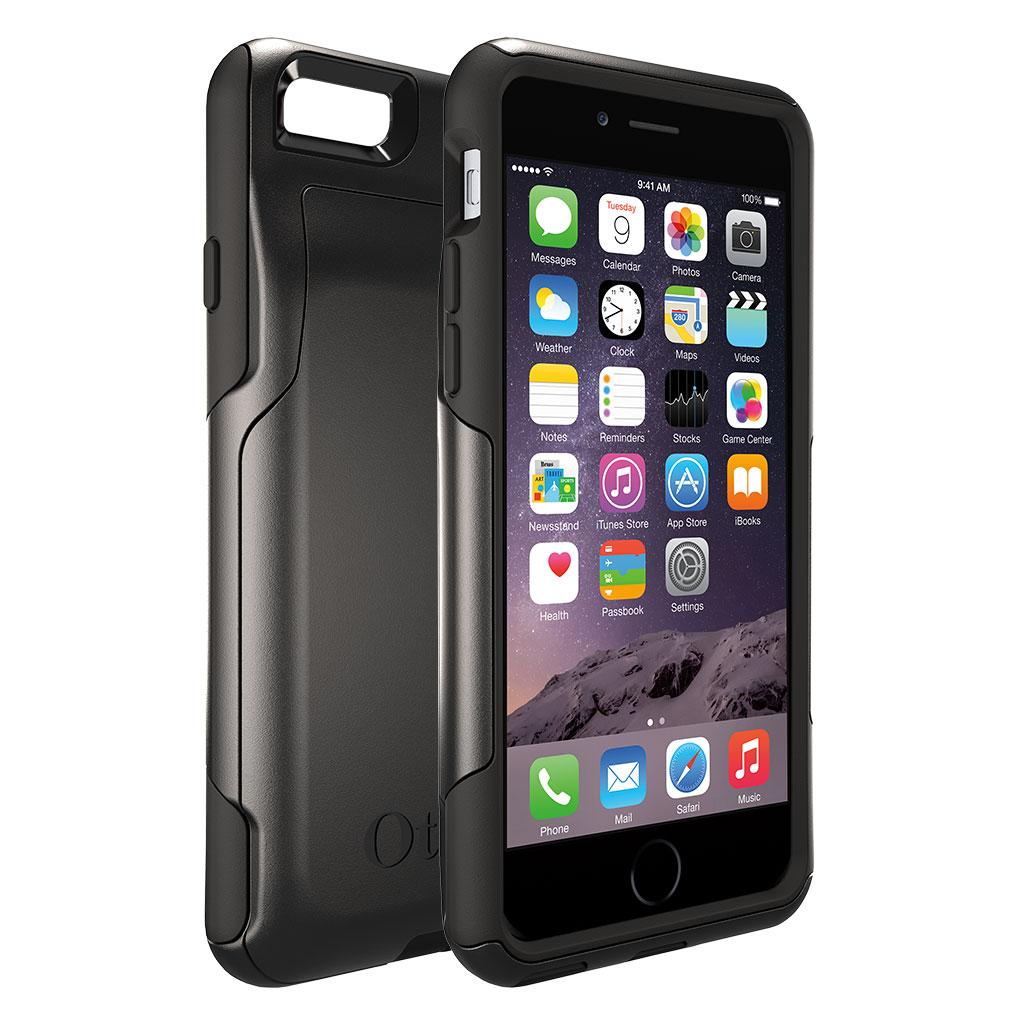 promo code 1a031 28f57 OtterBox COMMUTER WALLET iPhone 6/6s Case - Frustration-Free Packaging -  BLACK
