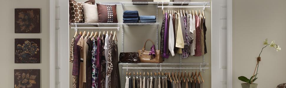 ShelfTrack Adjustable Closet Organizers