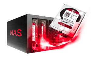WD Red hard drive nas network attached storage bay hdd storage high capacity 8 bays