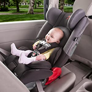 Diono radian rXT All-in-One Convertible Car Seat- Black Cobalt