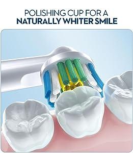 oral b, oral b toothbrush, whitening toothbrush, whitening brush, brush head, brush teeth