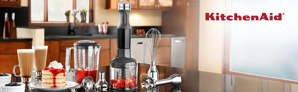 Kitchenaid 3 Speed Immersion Blender Contour Silver