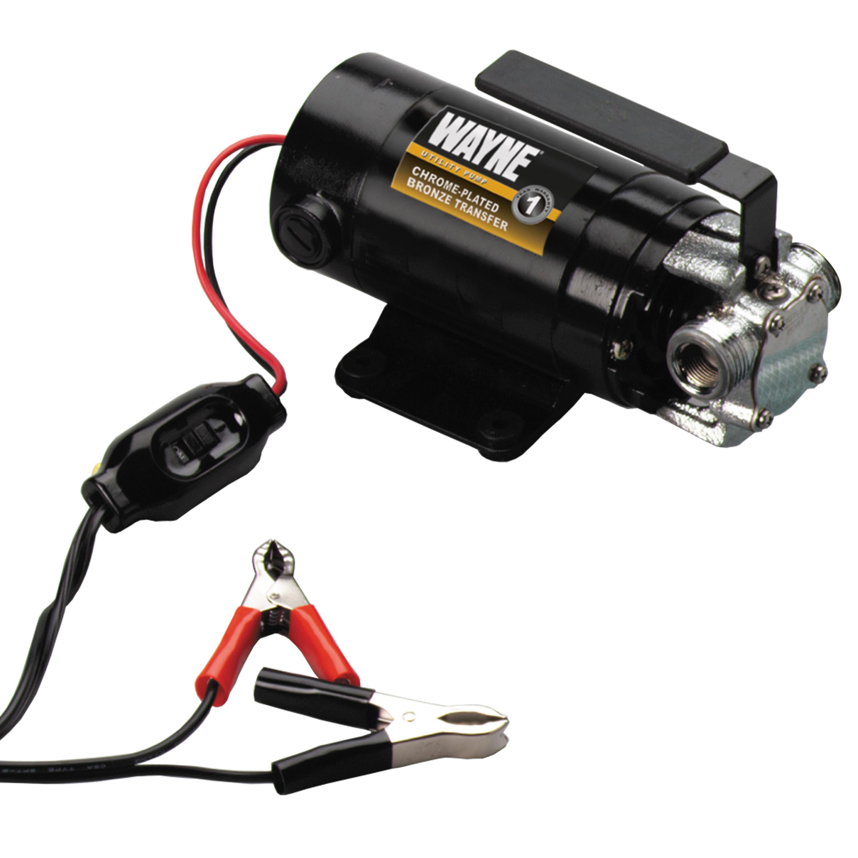 Wayne Pc1 Portable 12v Battery Powered Water Transfer Pump