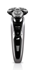 Philips Norelco Series 9000, electric shaver, wet or dry shave, electric razor