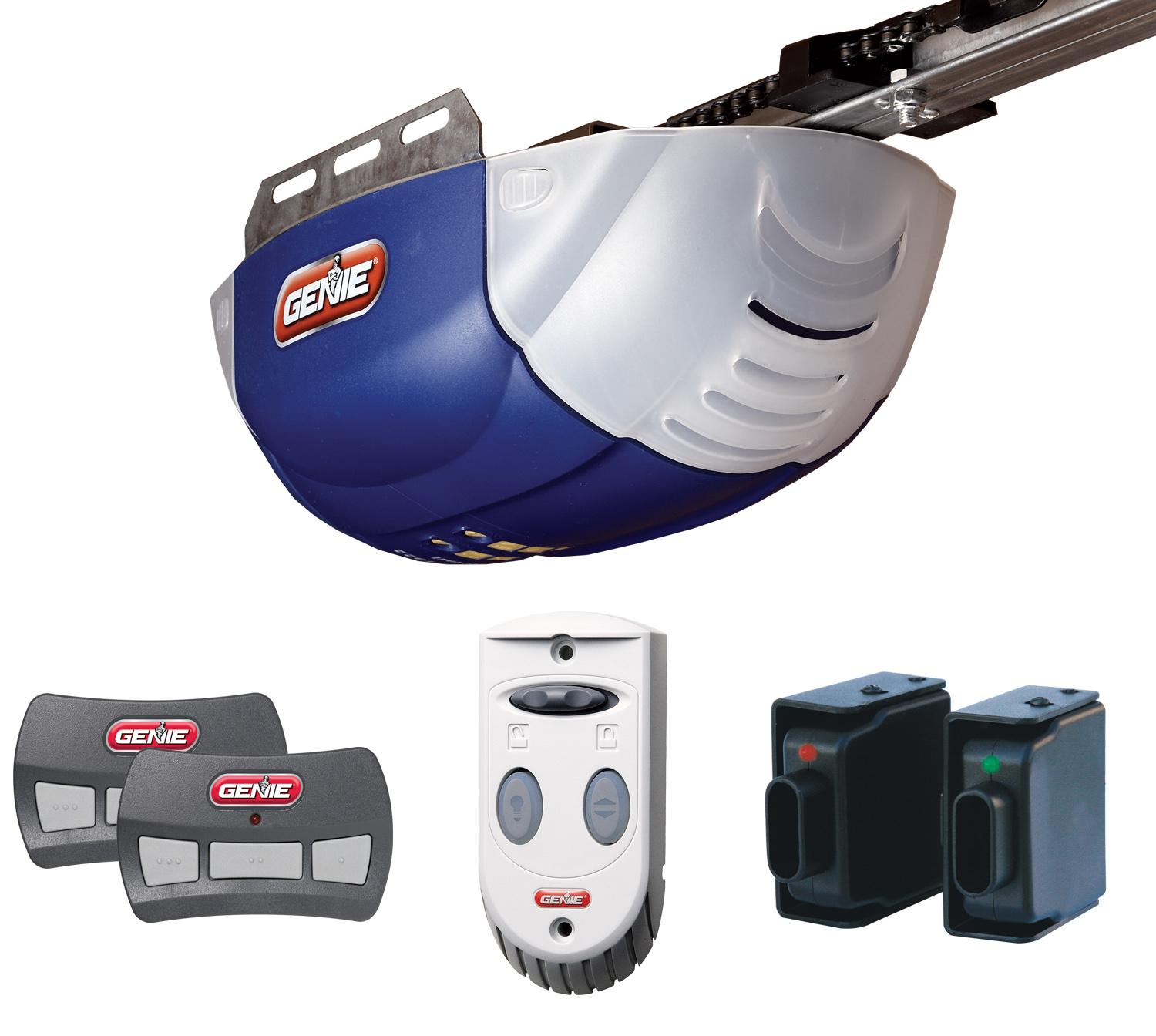 Genie Gen37000r Garage Door Opener With 1 2 Plus Hpc Dc