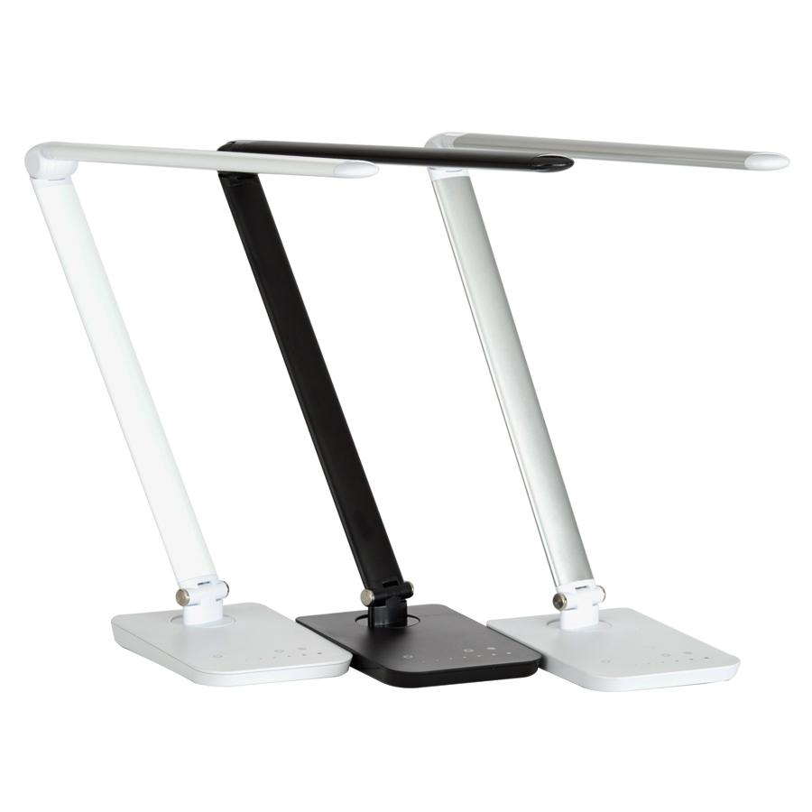 safco products sl vamp led modern abs desk lamp with usb port  - from the manufacturer