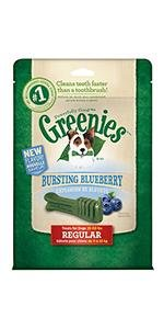 GREENIES Bursting Blueberry Dental Chews for Dogs