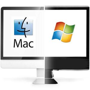 how to share a hard drive between mac and pc