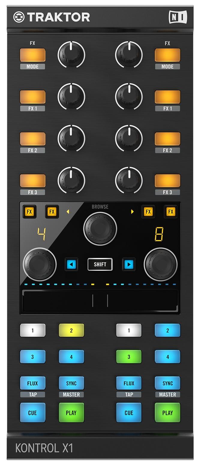 Native Instruments Traktor Kontrol X1 MkII DJ Controller