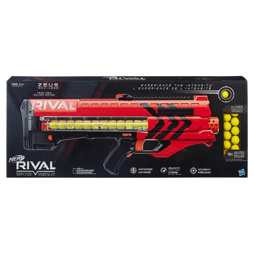 nerf rival zeus mxv 1200 blaster red blasters foam play amazon canada. Black Bedroom Furniture Sets. Home Design Ideas