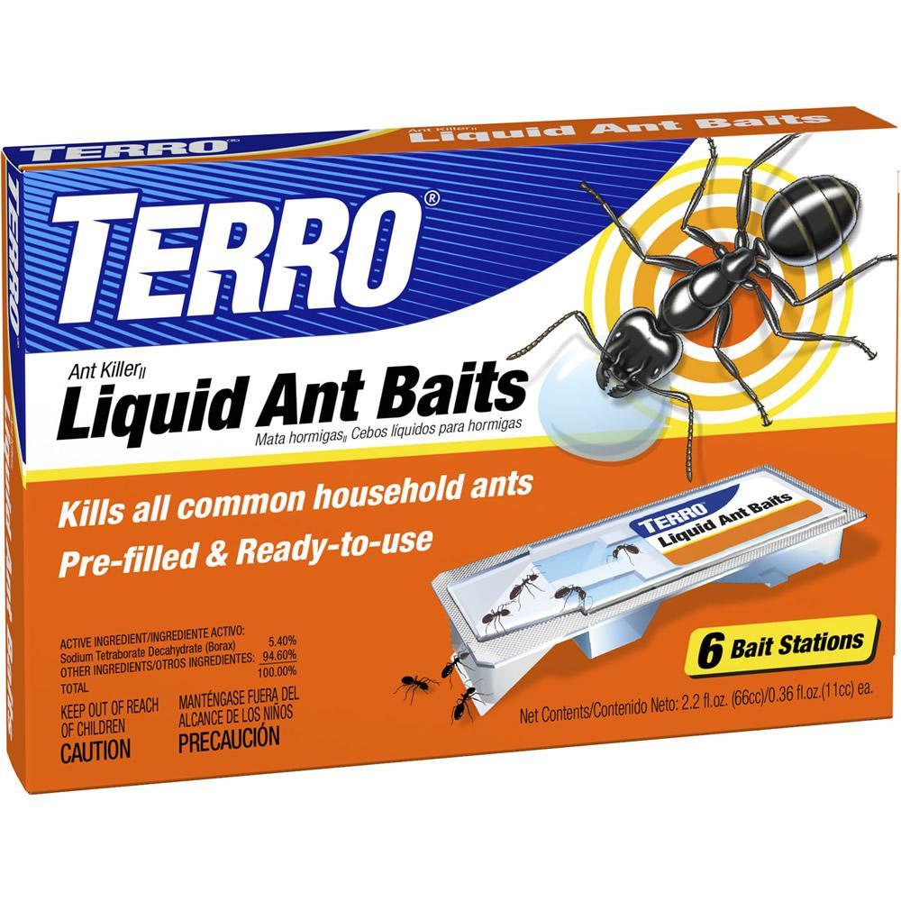 Terro Ant Killer Liquid Baits T300can Patio Lawn Garden