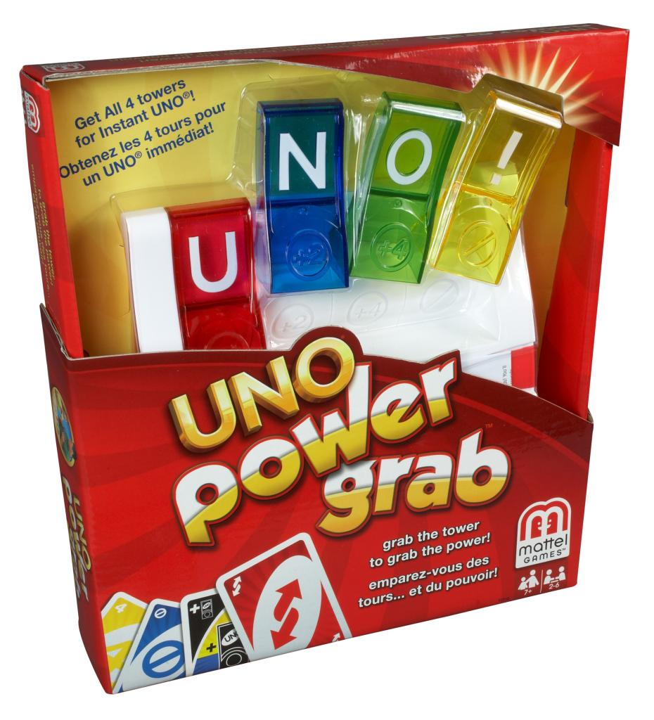 how to play uno power grab